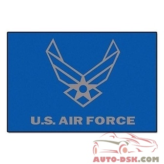 Fanmats All-Star Mat - AIR FORCE, 34inx45in - part #6978