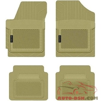 PantsSaver Custom Fit Car Mat 4PC Honda Civic 2003 Tan - part #1203033