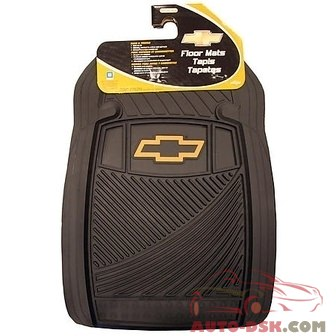 Plasticolor Chevy Front Floor Mat - part #001470R03/1680R