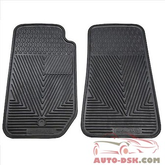 Highland All Weather Floor Mats, Black - part #4602900