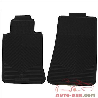 Highland All Weather Floor Mats, Black - part #4603000