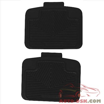Highland All Weather Floor Mats, Black - part #4603100