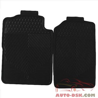 Highland All Weather Floor Mats, Black - part #4603800