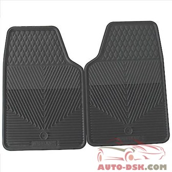Highland All Weather Floor Mats, Gray - part #4502500