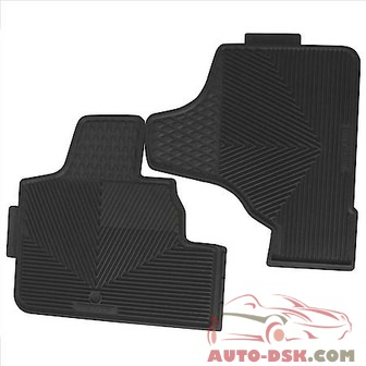 Highland All Weather Floor Mats, Gray - part #4503200