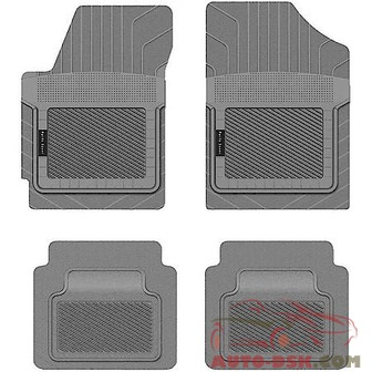 PantsSaver Custom Fit Car Mat 4PC Ford 500 2007 Gray - part #1001072