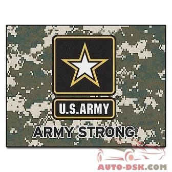 Fanmats All-Star Mat - ARMY, 34inx45in - part #6971