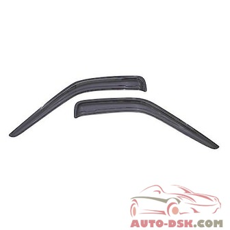 Auto Ventshade (AVS) Aerovisor Off Road Front Wind Deflector; 2 pc.; Smoke - part #95008