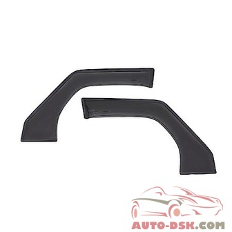 Auto Ventshade (AVS) Aerovisor Off Road Front Wind Deflector; 2 pc.; Smoke - part #95012