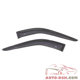 Auto Ventshade (AVS) Aerovisor Off Road Front Wind Deflector; 2 pc.; Smoke - part #95038