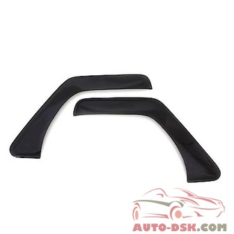 Auto Ventshade (AVS) Aerovisor Off Road Front Wind Deflector; 2 pc.; Smoke - part #95068