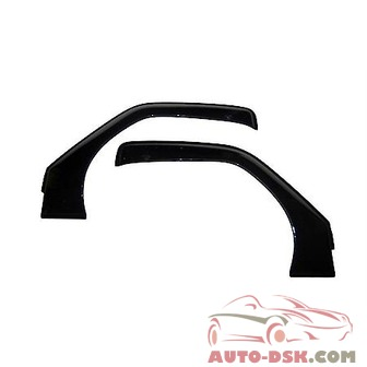 Auto Ventshade (AVS) Aerovisor Off Road Front Wind Deflector; 2 pc.; Smoke - part #95099