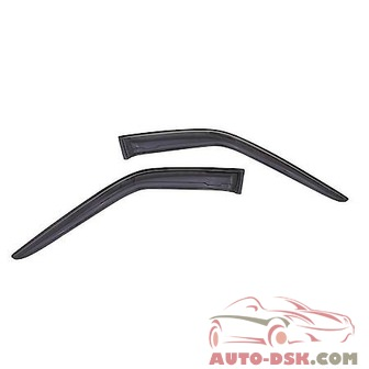 Auto Ventshade (AVS) Aerovisor Off Road Front Wind Deflector; 2 pc.; Smoke - part #95154