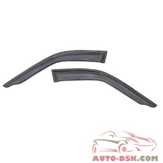Auto Ventshade (AVS) Aerovisor Off Road Front Wind Deflector; 2 pc.; Smoke - part #95258