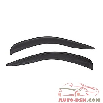 Auto Ventshade (AVS) Aerovisor Off Road Front Wind Deflector; 2 pc.; Smoke - part #95357