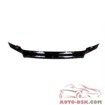 Auto Ventshade (AVS) Bugflector II Stone/Bug Deflector; Smoke; Full Height - part #24508